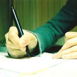 write-thumb